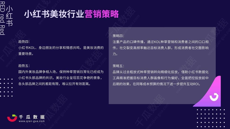 """020年小红书美妆行业品牌投放数据报告"""""""