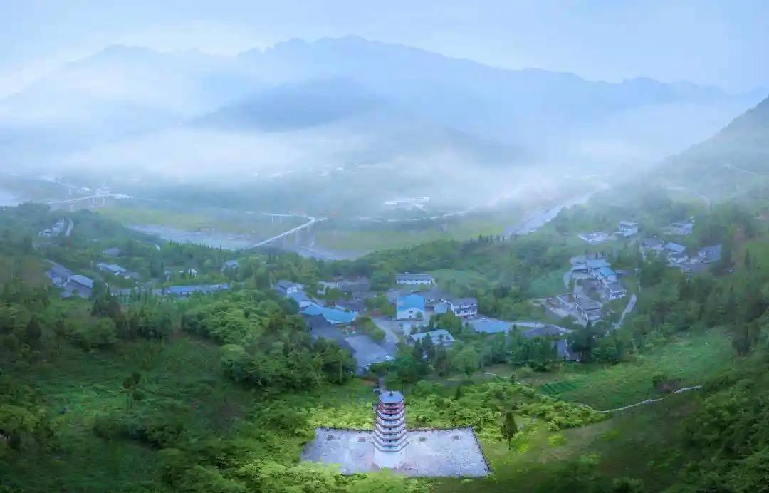 赵公福地,生态氧吧……这里是漩口!