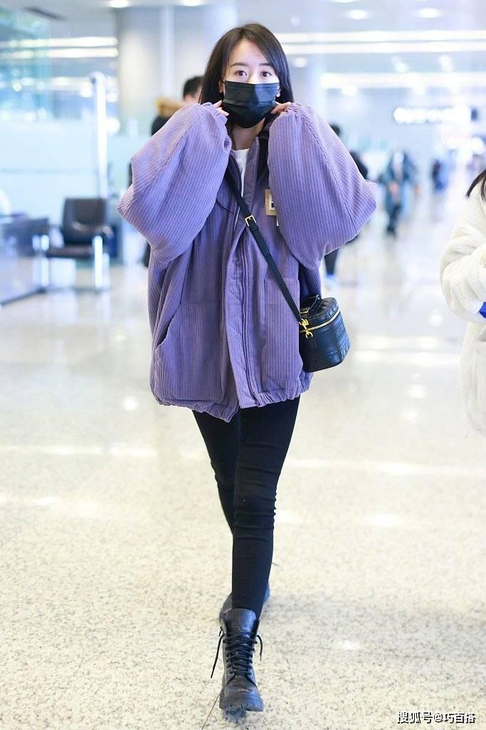 原创             袁冰妍秋冬机场穿搭汇总,舒适不作妖的穿衣风格,值得你借鉴!