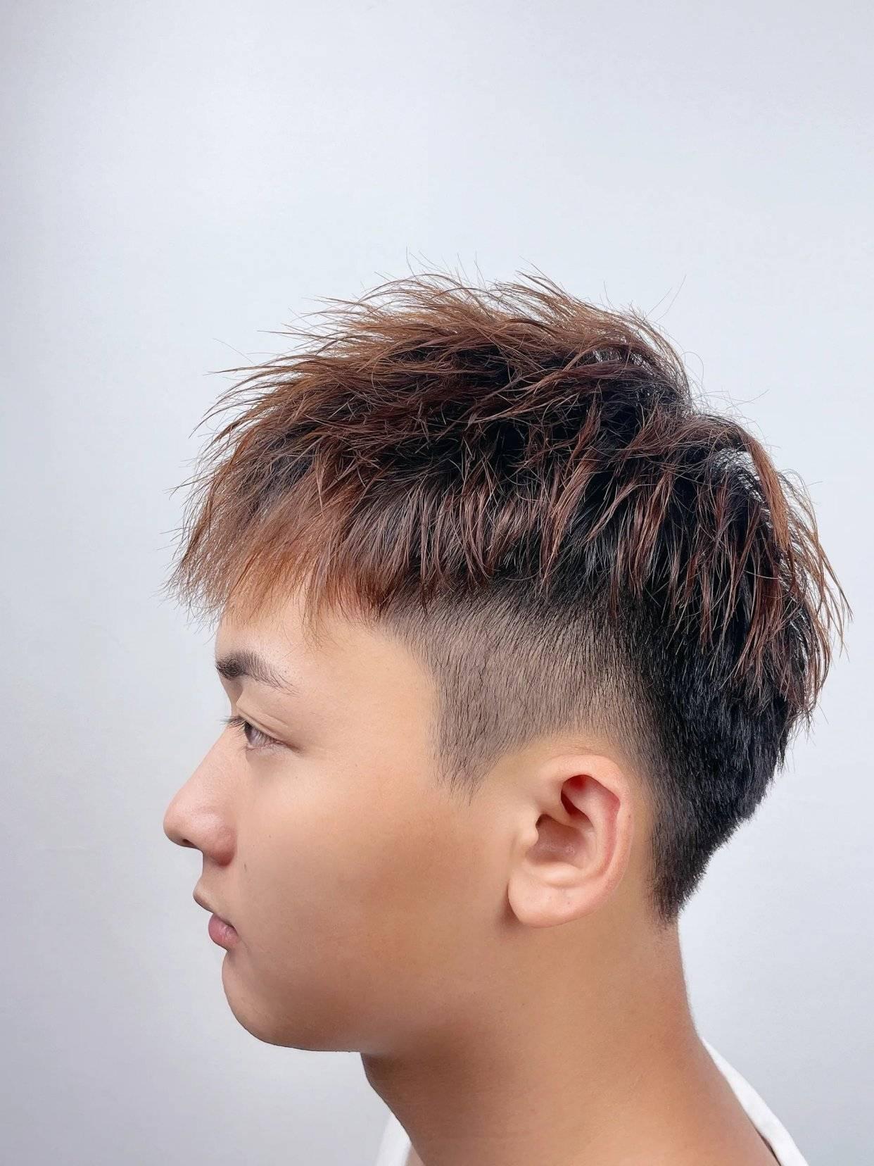 狼尾男发已过时,这10几款更流行,你看帅不帅_发型