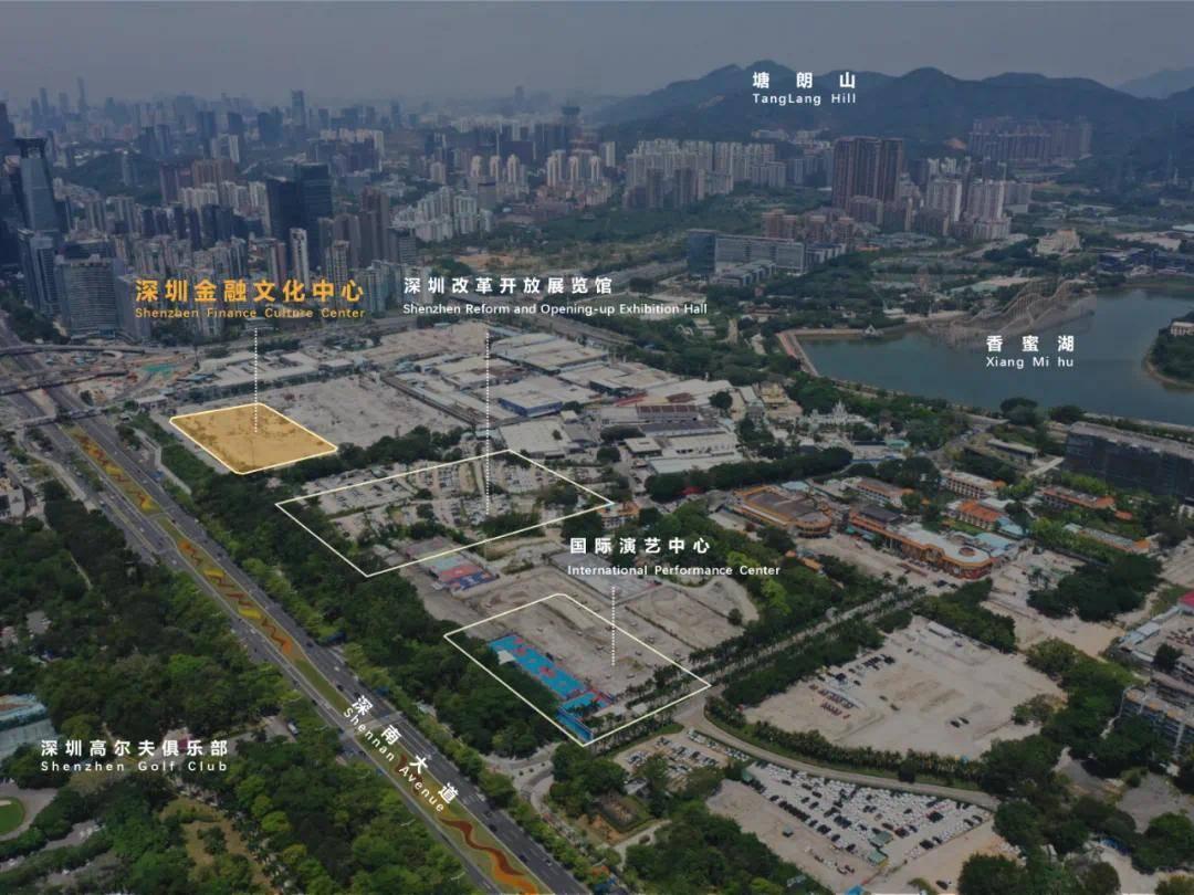 香蜜湖有了大动作!深圳金融文化中心、国际演艺中心要来了