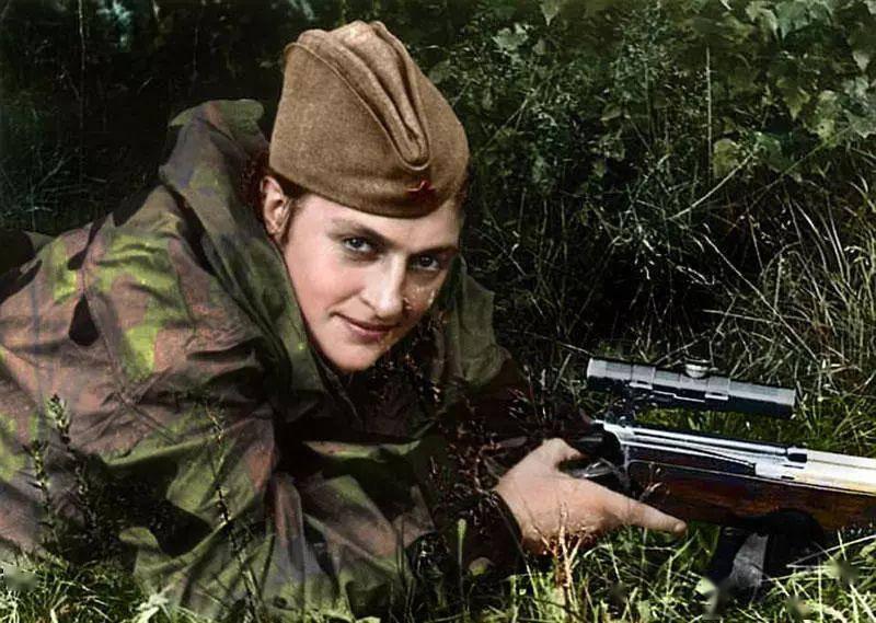 二战德军头号王牌狙击手,98K杀敌345人,曾命中千米外敌军图片