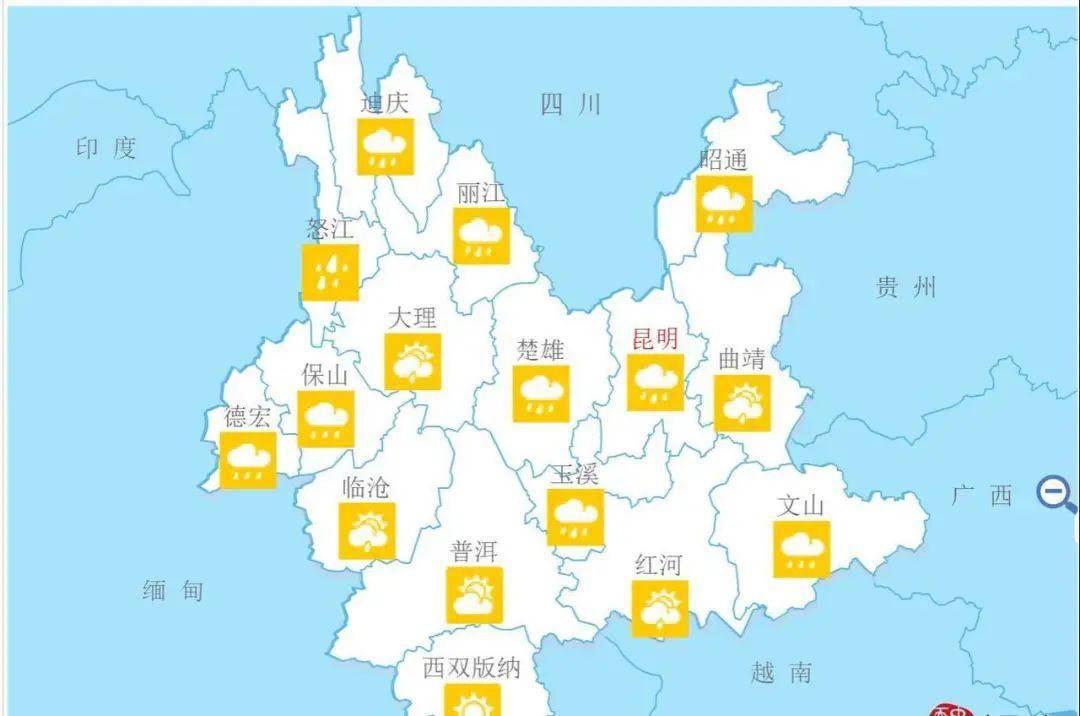 【聚焦】怒江、迪庆等地发布地质灾害气象风险Ⅰ级预警