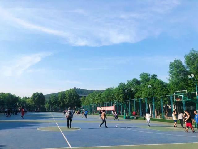 山东省体育中心足篮球主题公园升级改造,具体恢复开放时间待定