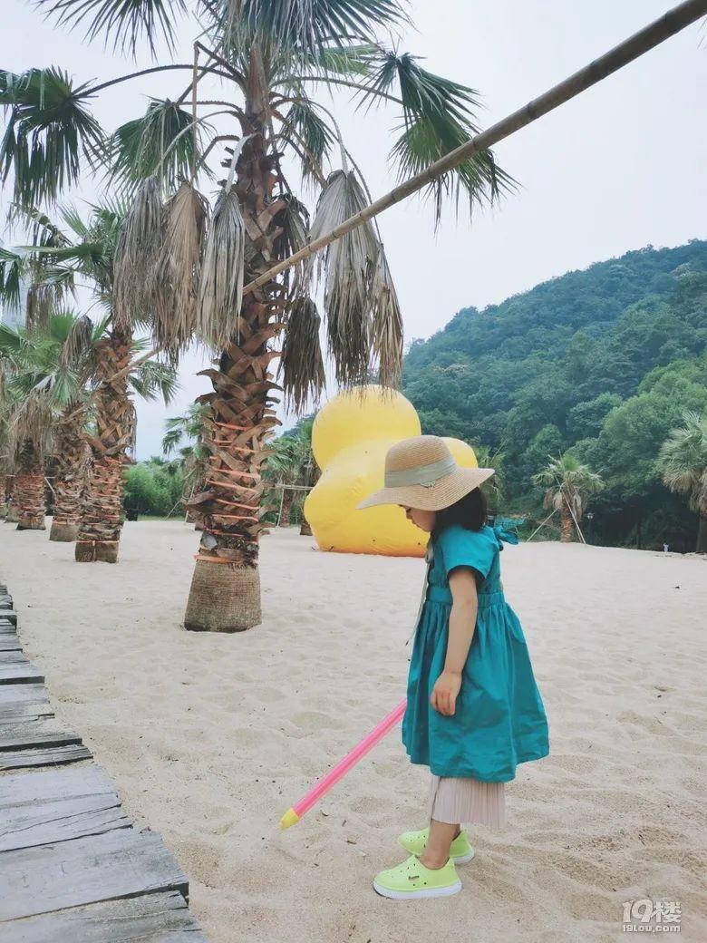 只要心中有海,在哪都是马尔代夫,况且这就在杭州呀!