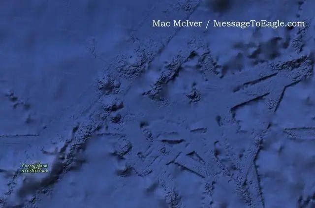 太平洋底发现庞大水下结构,好像飞机跑道,史前文明真的存在?