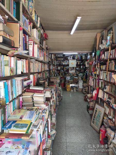 旧书店里的快乐生活