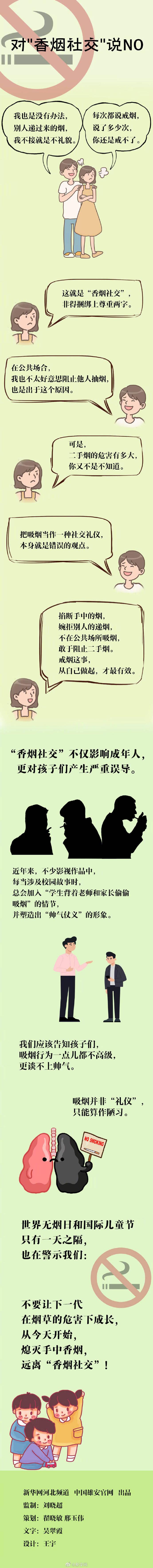 """世界无烟日:对\""""香烟社交\""""说NO"""