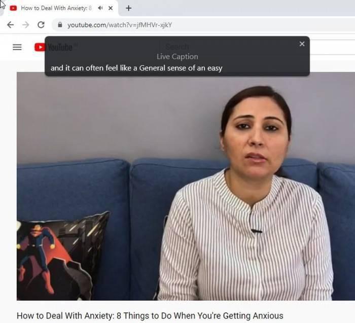 Chrome为网页音频/视频提供实时字幕