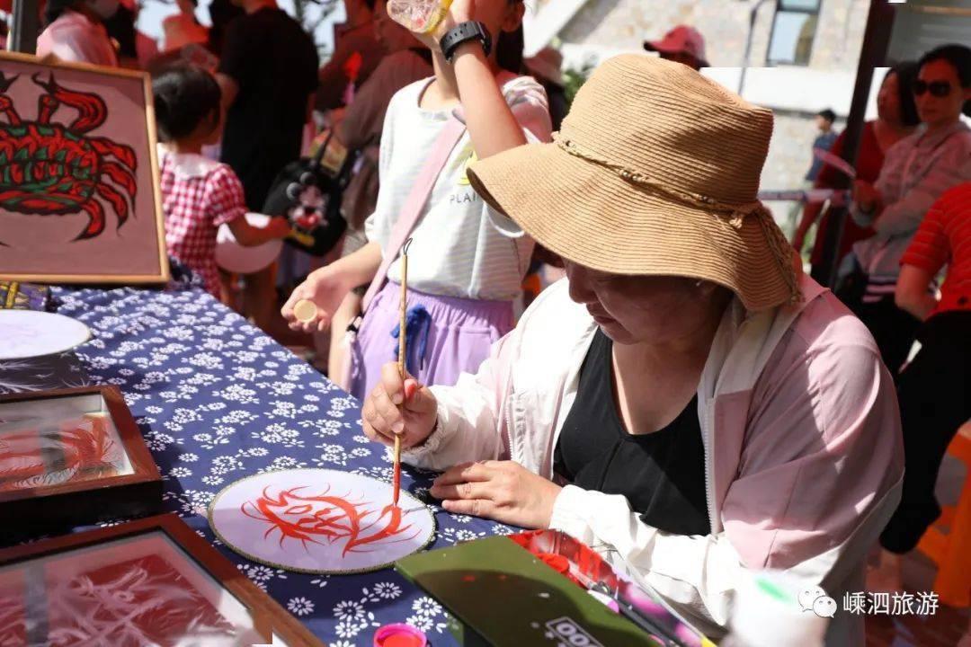 今天下午 望海广场人山人海 因为一场海岛渔家盛会如约而至