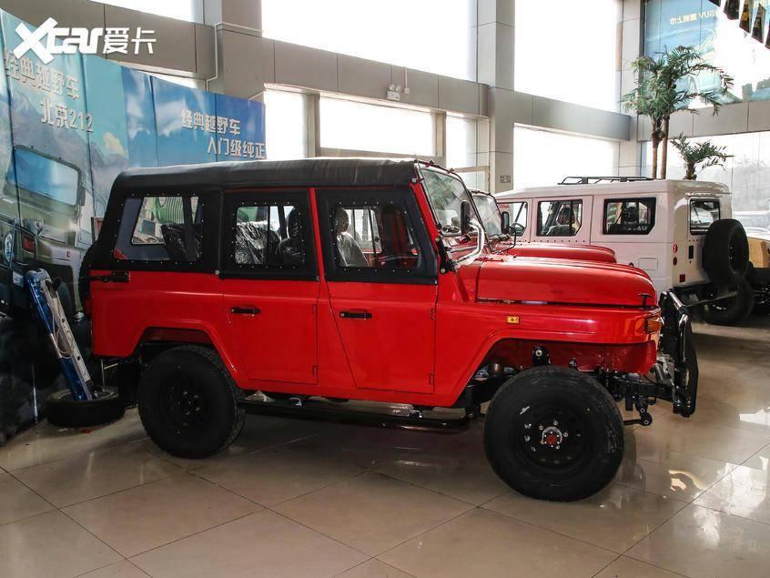 感情一定要看。BJ 212硬座SUV增加一辆新车/售价101,000