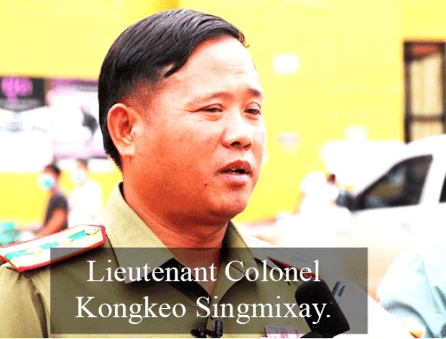 老挝卡车是不允许进入中国领土的研磨