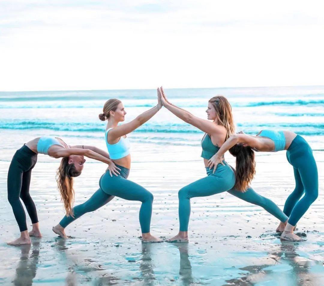 不知道双人瑜伽照怎么拍?收藏这篇文章就够啦! 减肥窍门 第16张