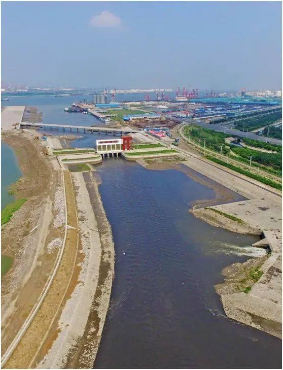 海河河口项目如期顺利完成 淮上区沫河口2015建设项目