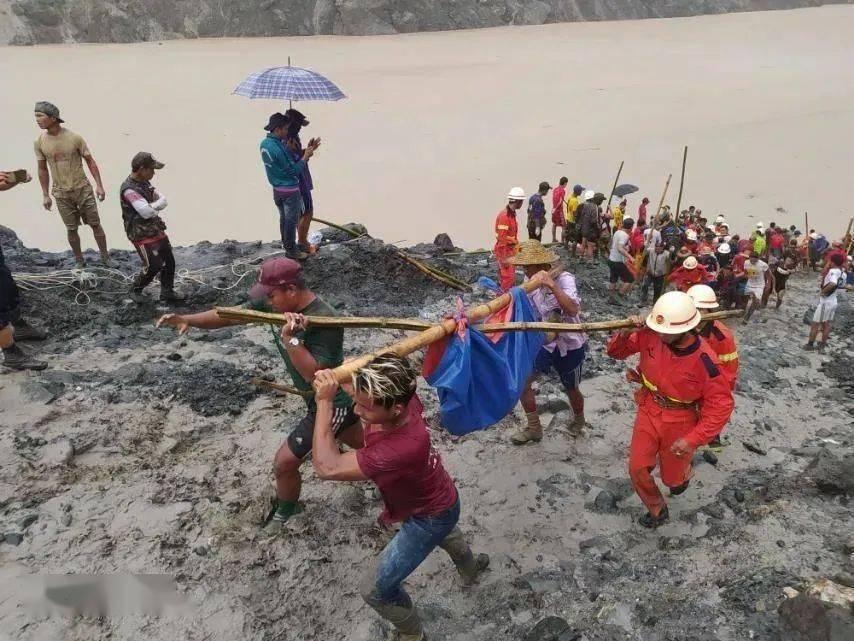 缅甸矿区塌方已致162人遇难,为世界最大的玉矿所在地