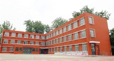 红桥小学提升改造 校园修葺一新(图)