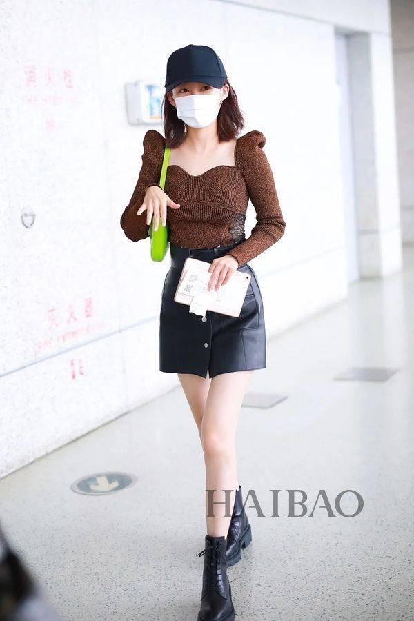 上周华语女星街拍合辑来啦,姐姐们的穿搭功力持续在线  span class=