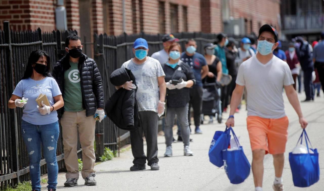 外媒:对失业或因疫情封锁受打击的美国人,政府没有兑现食品援助承诺