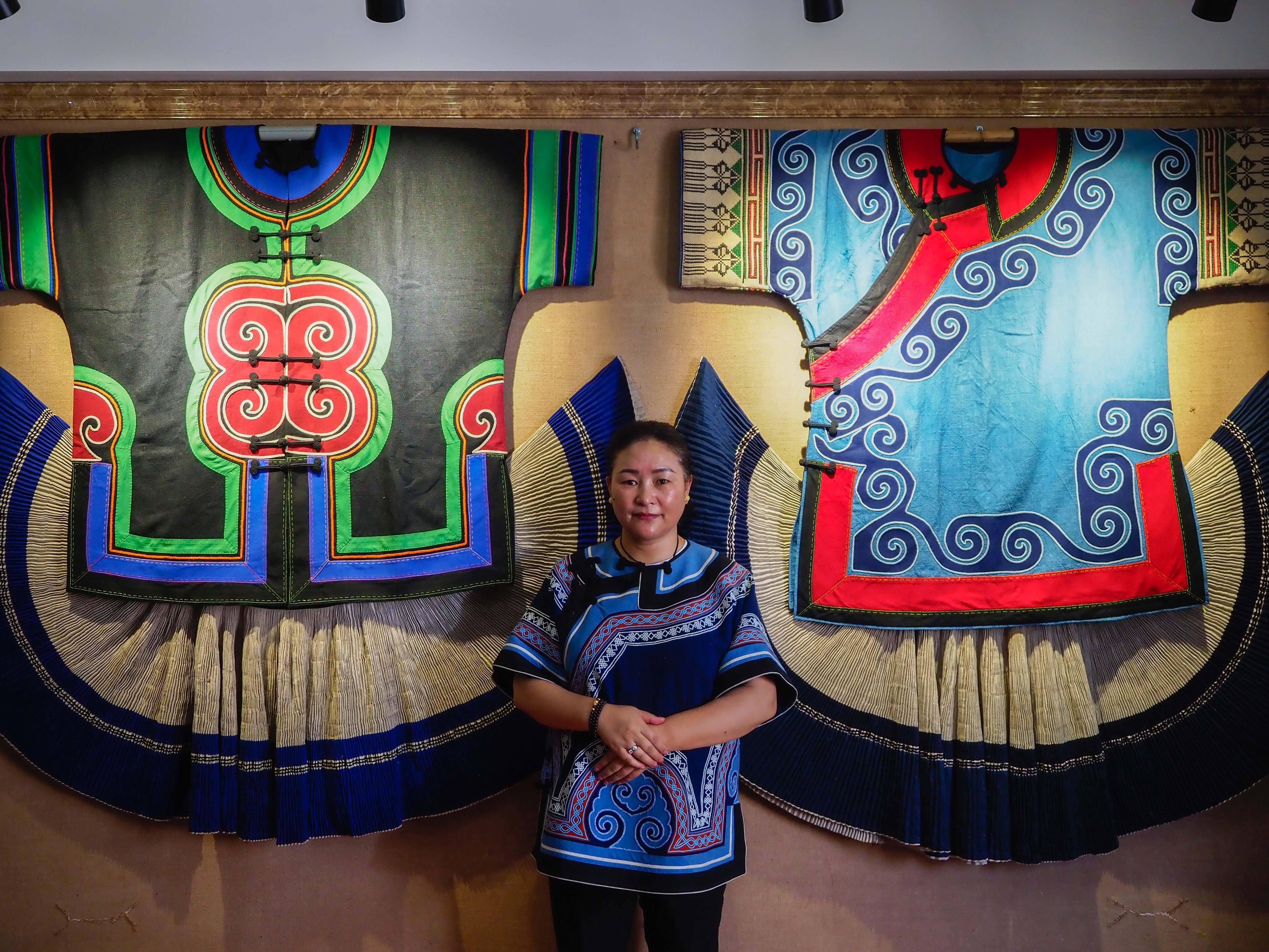 刺繡幫助四川涼山婦女過上自立富足生活