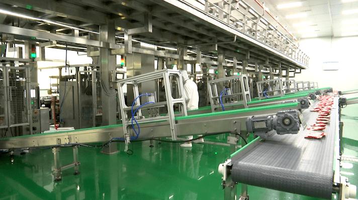国内首个酱腌菜智能车间在涪陵正式投产