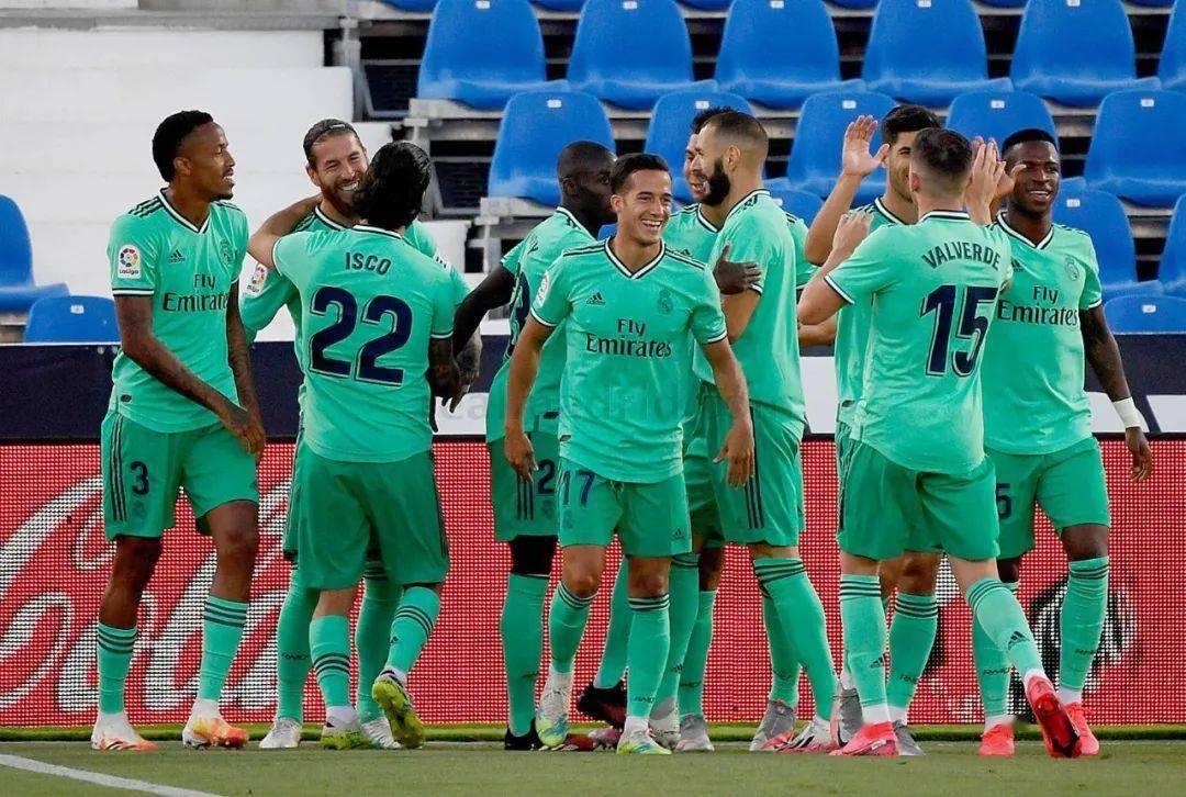 西甲|莱加内斯2-2皇家马德里