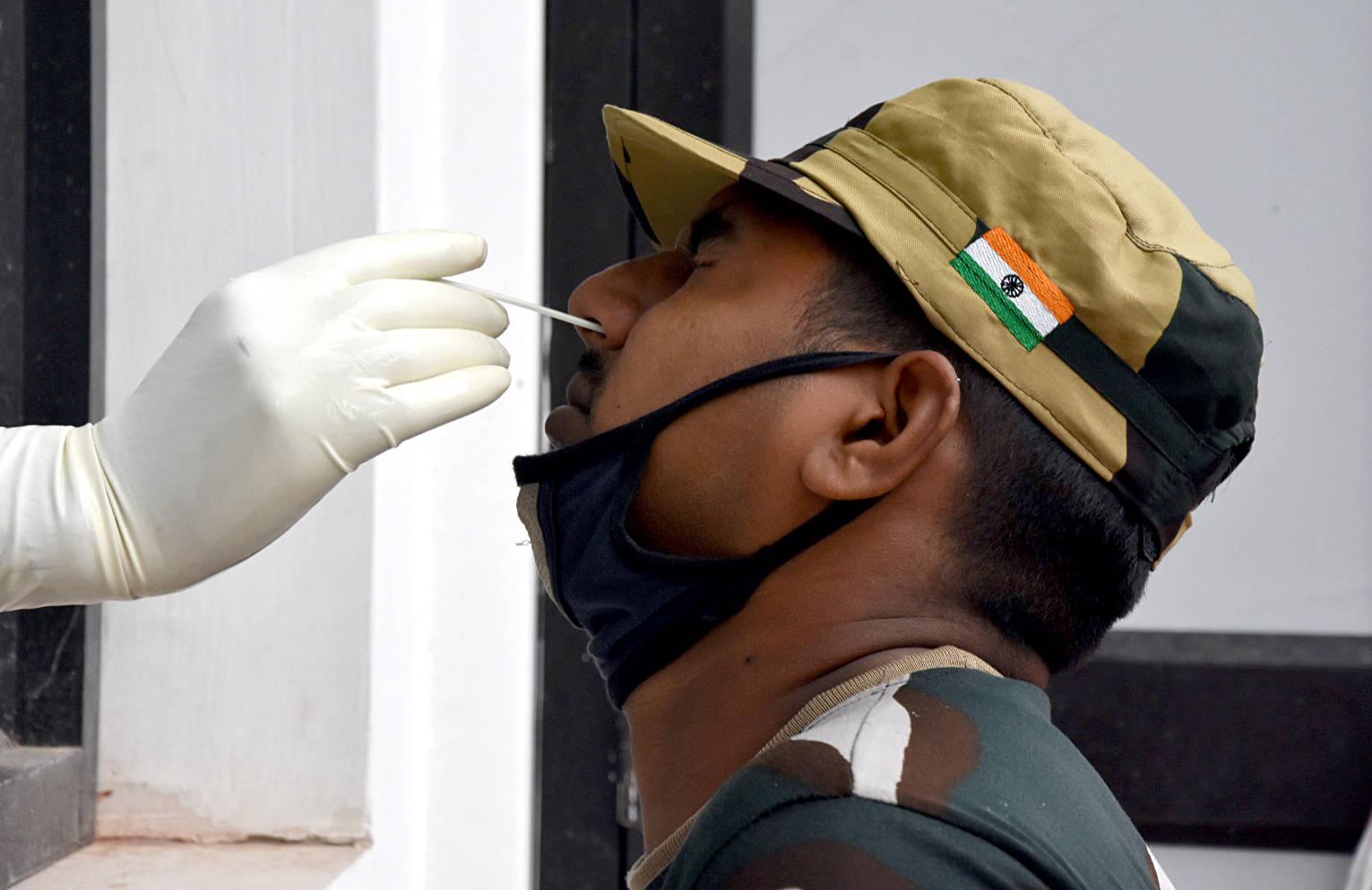 湖北楚剧印度边境安全部队101人确诊感染