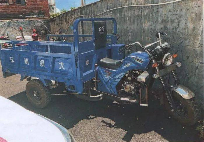 五华男刚出狱 偷了三轮摩托车!去他的!