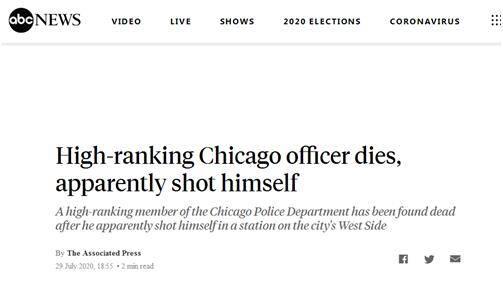 四大民间故事芝加哥警察局一高级警官身