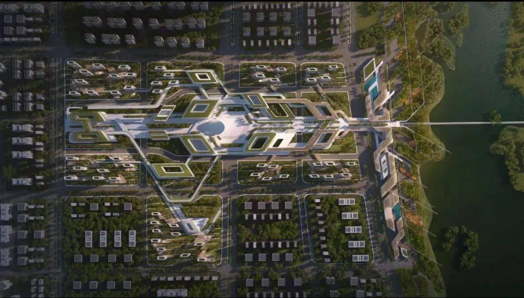 西安浐灞规划图