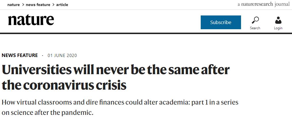 """英国高等教育行业因疫情损失超1700亿元,欧美大学迎""""至暗时刻"""":教授被裁,多所百年高校永久关闭!"""