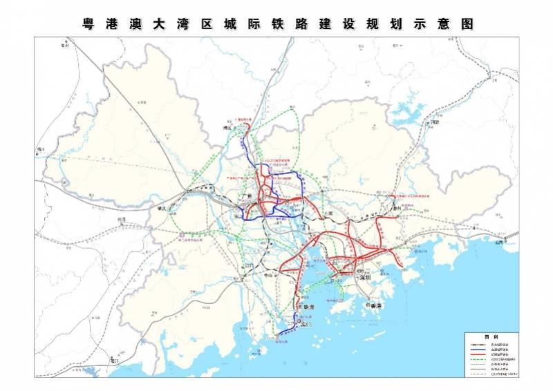 """东莞将新增4条铁路,深度融入""""轨道上的大湾区"""""""