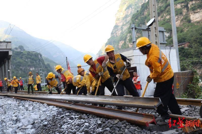 成昆铁路岩崩地质灾害区段已抢通,暂不具备旅客列车开行条件