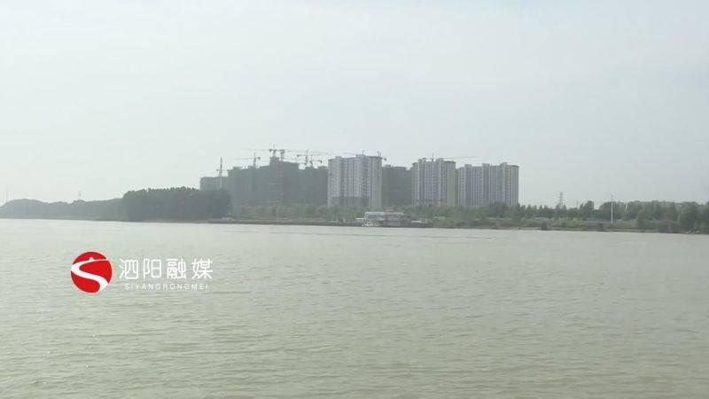 """泗阳大学生暑期""""三下乡""""保护母亲河志愿者在行动"""