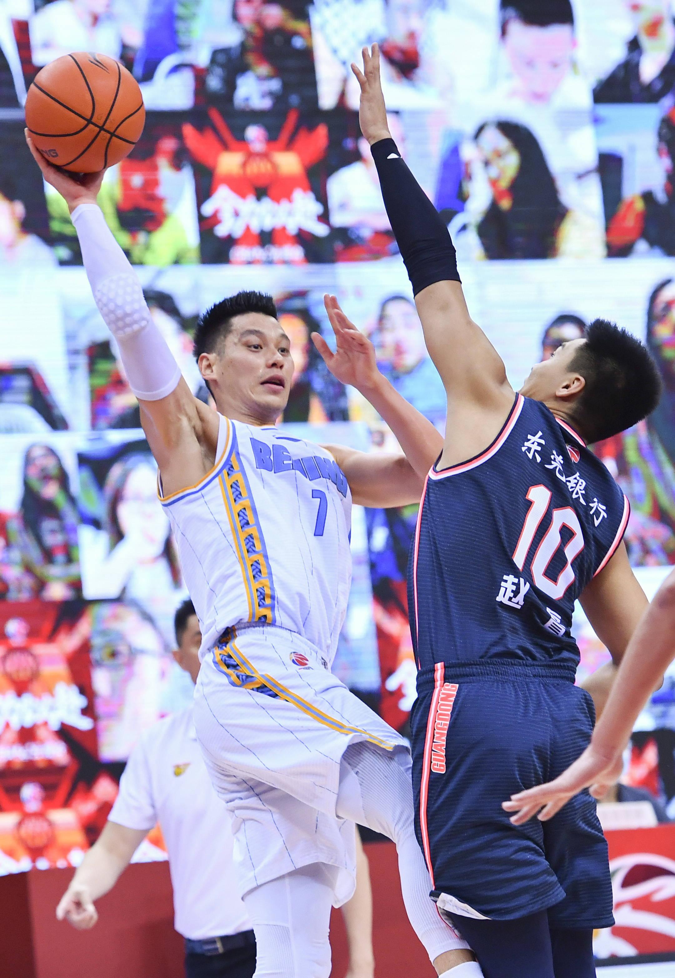 篮球——CBA联赛半决赛:北京首钢队对阵广东东莞银行队