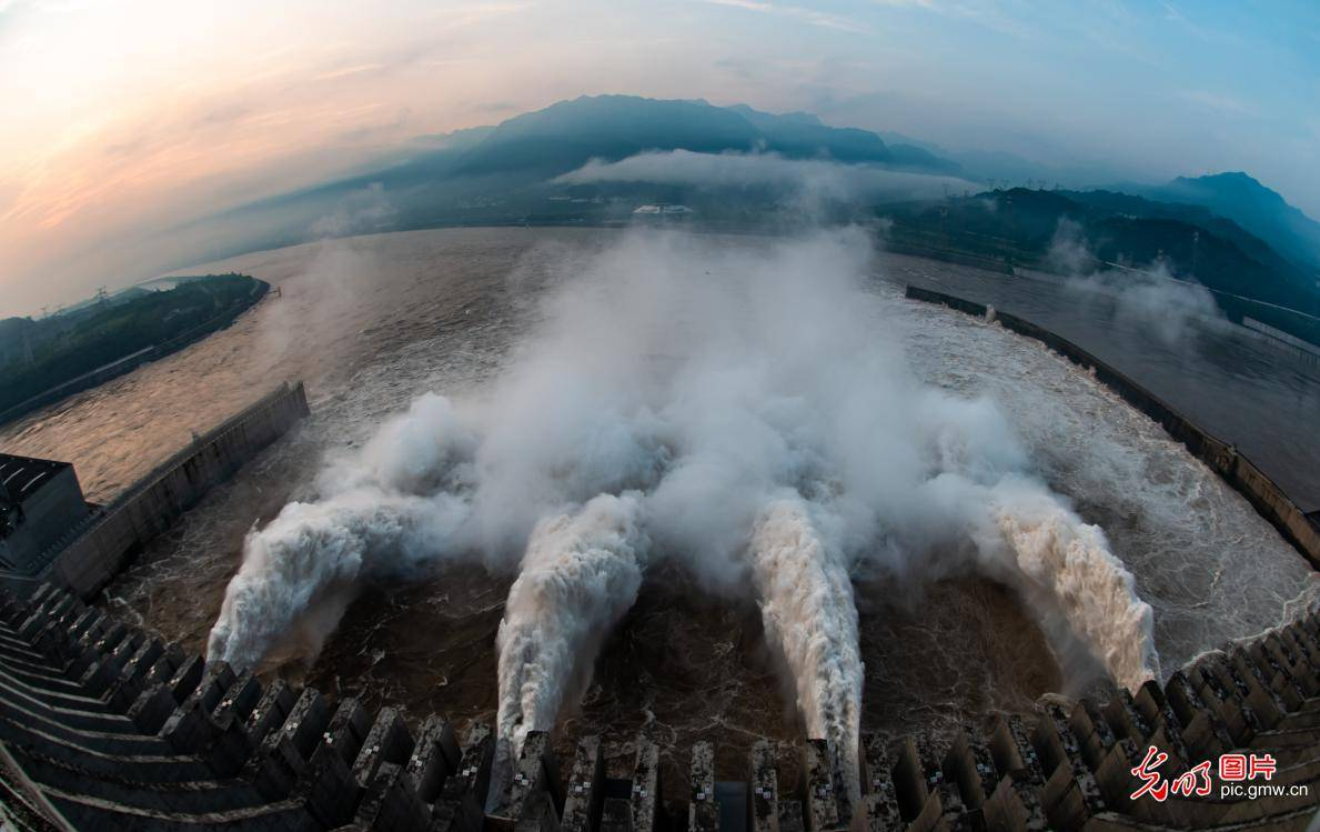 Three Gorges Dam held back over 30 billion cubic meters of floodwater