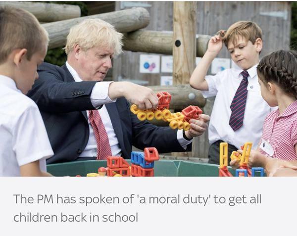 """英国首相:九月开学是""""国家优先事项""""_中欧新闻_欧洲中文网"""
