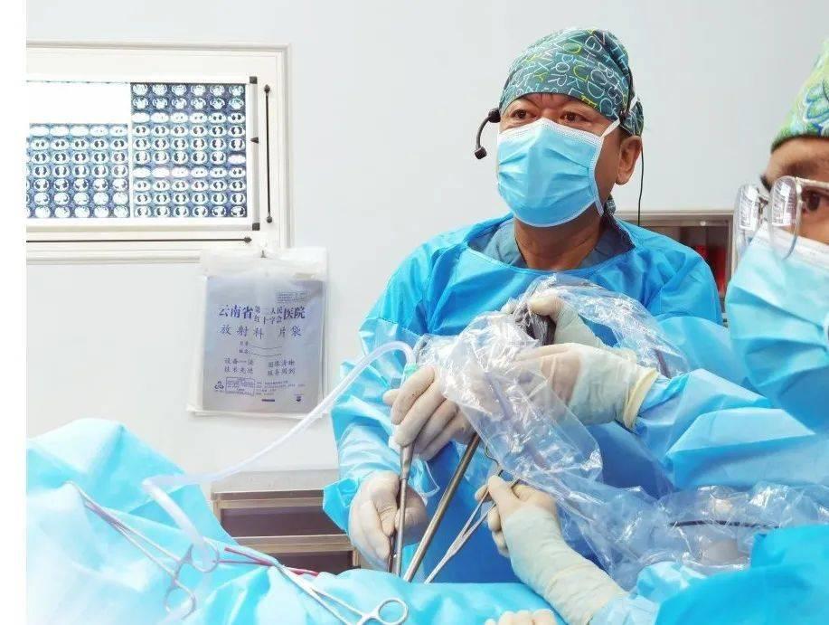 云南省肿瘤医院昆明医科大学第三附属医院胸外二科开展全国胸部手术直播演示