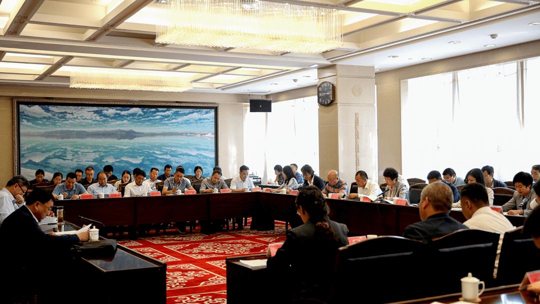 """王琨副主席在""""全省文化产业发展""""民主"""