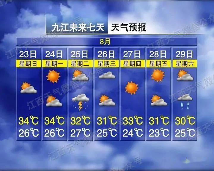 九江终于要降温了!时间到了。 九江图书馆开放时间