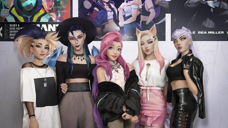 《英雄联盟》新角色Seraphine将与K/DA女团进行合作 友情客串一首新曲