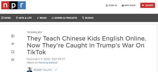 """美国教师:教五岁的中国孩子""""SayHello""""我就可能坐牢?"""