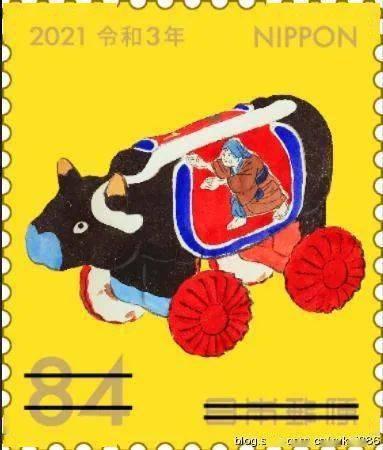 日本邮政将在10月底发行牛年生肖邮票