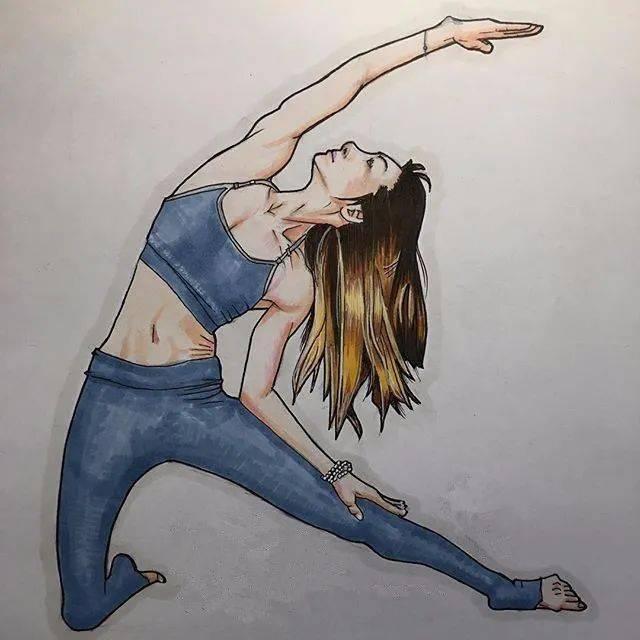 瑜伽,是治愈一切的良药