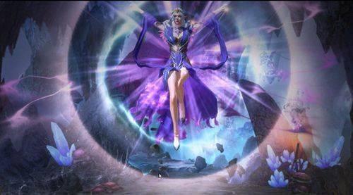"""《魔法门之英雄无敌:王朝》全新英雄""""伊蓓丝""""曝光  通过消耗对方的魔法来获得胜利"""