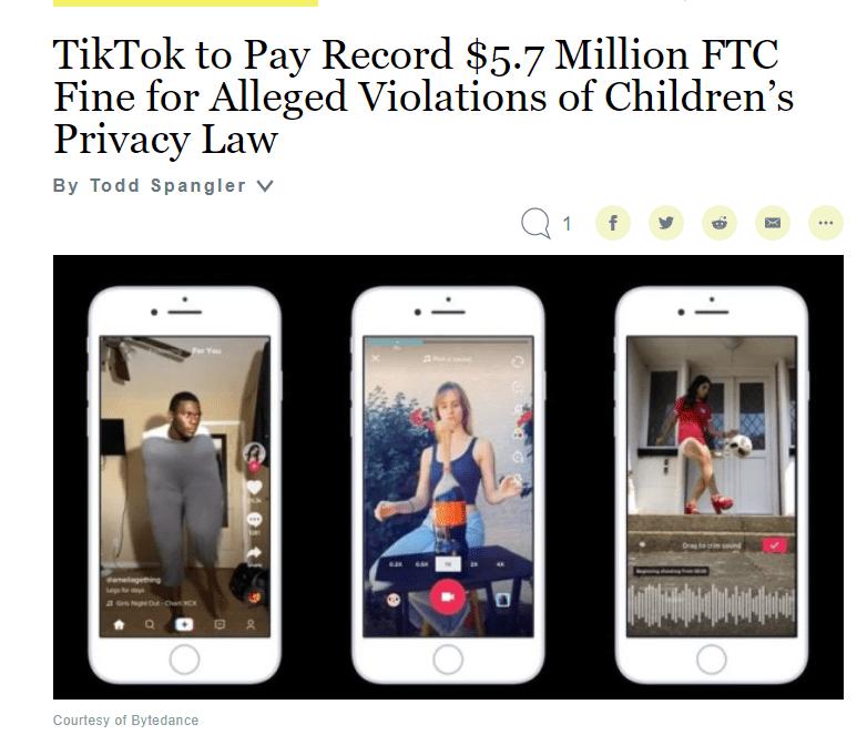 在保护儿童这件事上,互联网企业交过百万罚金