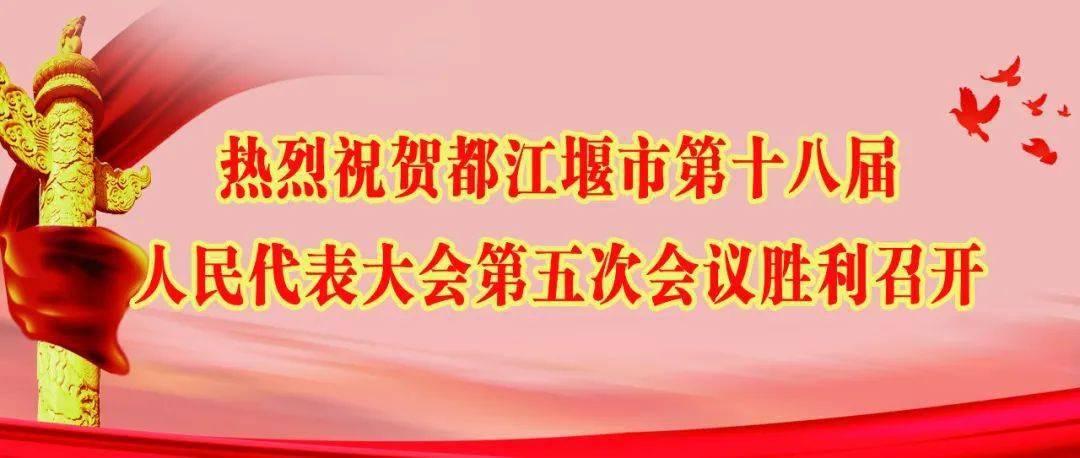 都江堰市第十八届人民代表大会第五次会议胜利闭幕!张亚丹全票当选都江堰市人民政府市长!