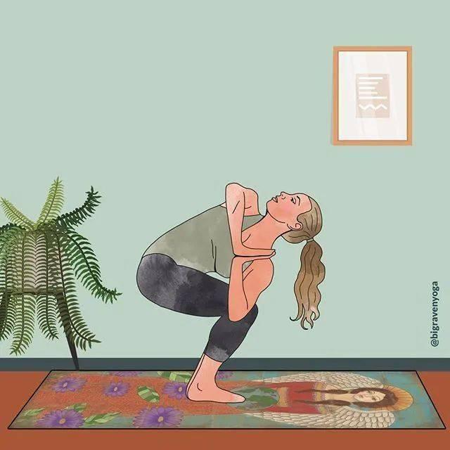 练瑜伽,如何将扭转像拧毛巾一样深入?_step