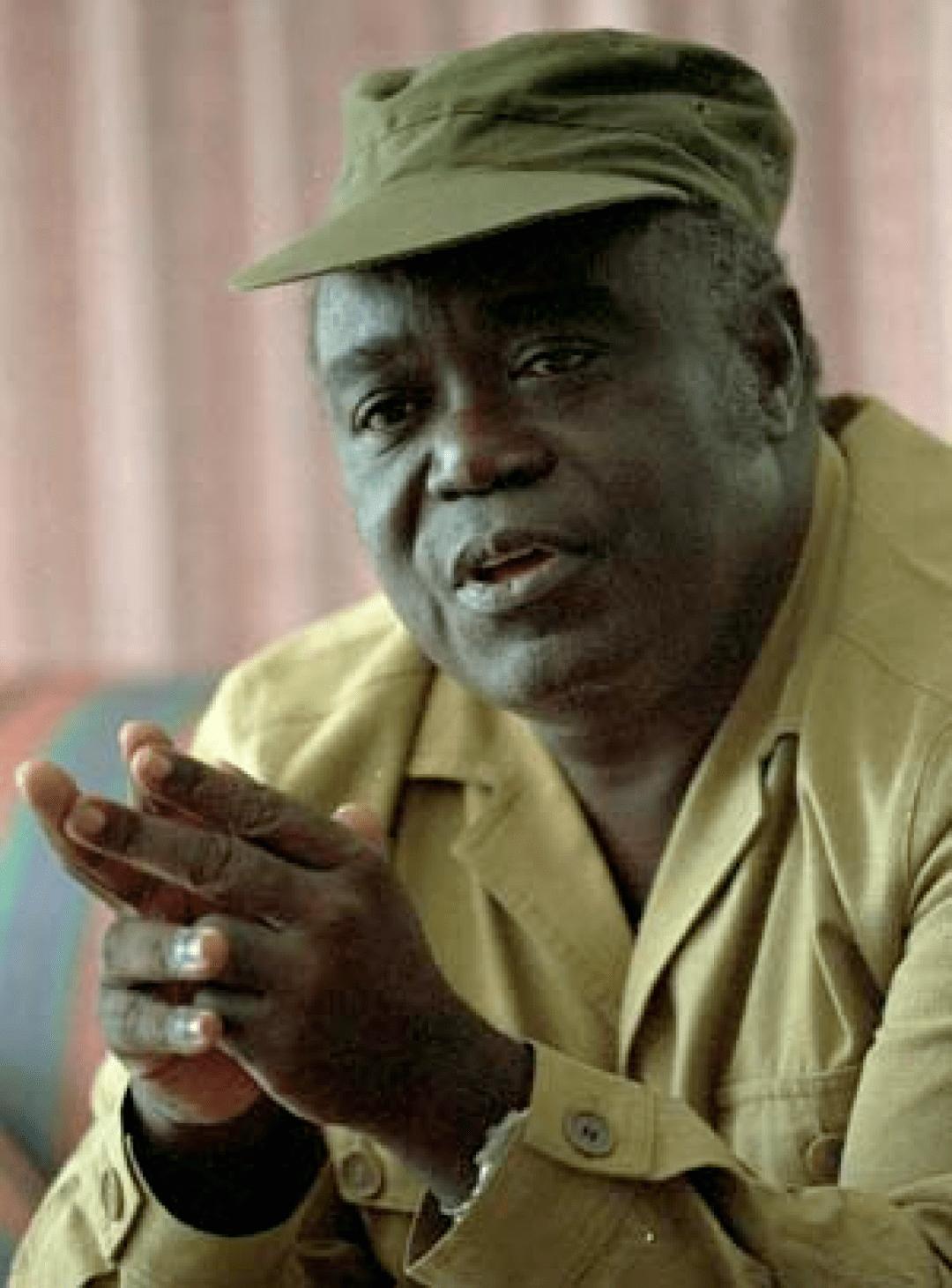 卡比拉,刚果前总统,酷爱以绿军帽和中山装形象示人,曾自诩为毛派革命力量