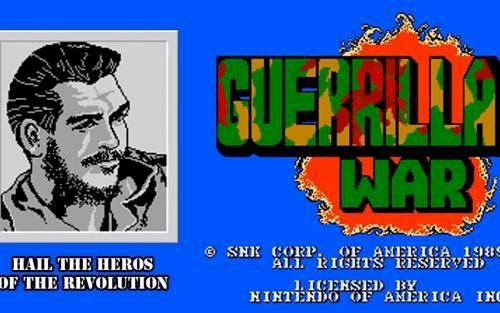 红白机经典游戏《古巴战士》