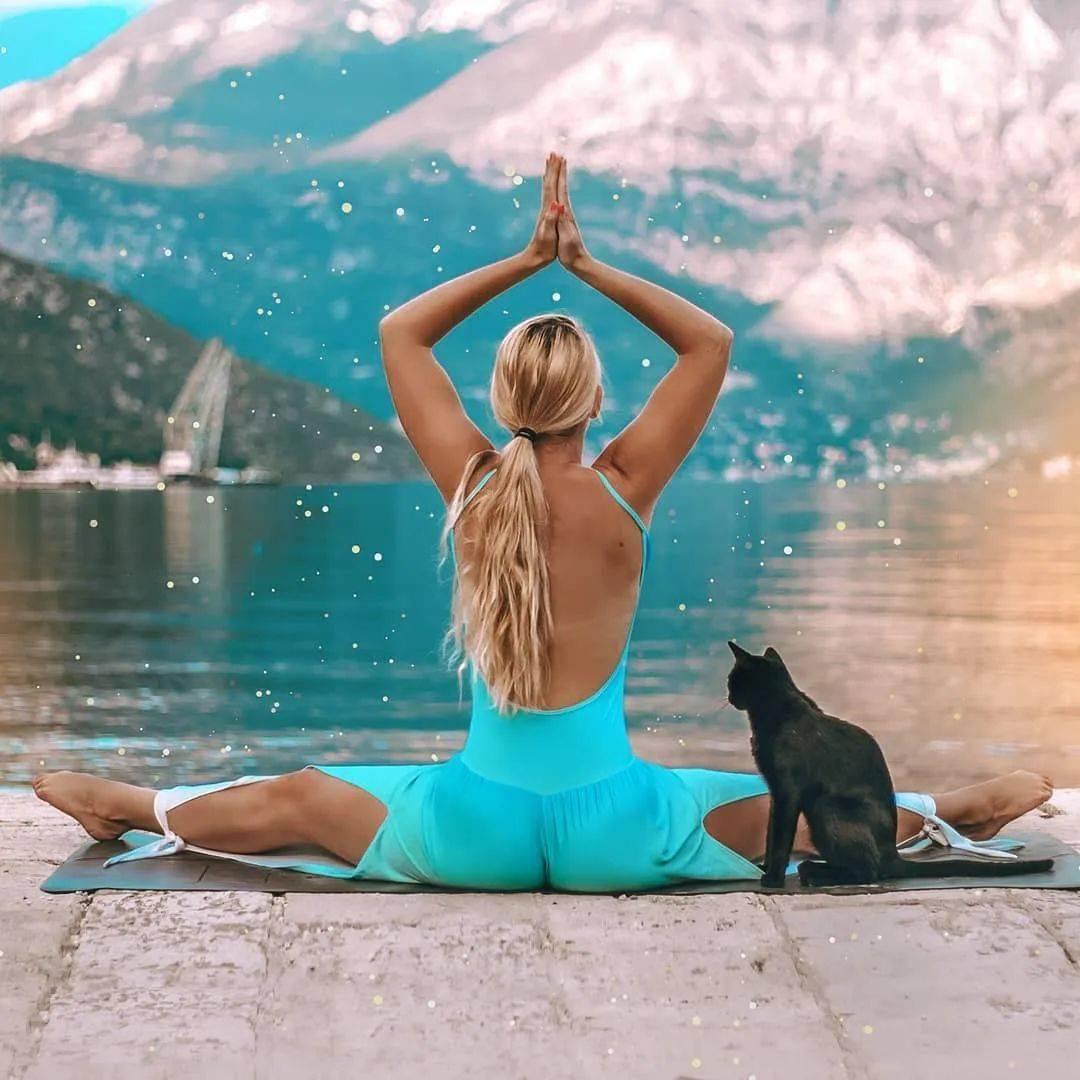 属于清晨的瑜伽序列,让你的抵抗力从此Up!Up!Up!_地面